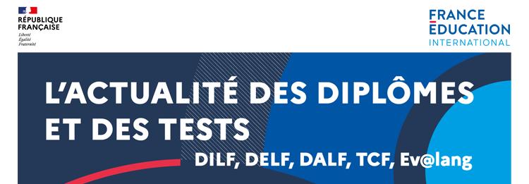 Bandeau actualité des diplômes et des tests